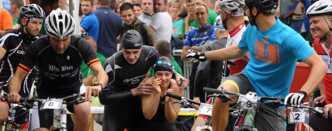 Volkssporttriathlon in Sebnitz